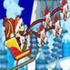 Game Mario lái xe phát quà Noel