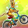 Game Scooby Doo lái xe đạp