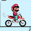 Game Super Mario Lái Môtô Địa Hình