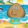 Game Pou đi biển