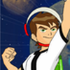 Game Ben 10 nhảy trên không gian