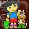 Game Dora tô màu online