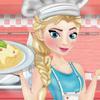 Game Elsa Nấu Spaghetti