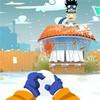 Game Naruto ném tuyết
