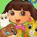 Dora nuôi pets