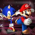 Sonic Giải Cứu Mario Z