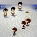 Game Cuộc chiến ném phân, choi game Cuoc chien nem phan