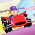 Lizzie đua xe