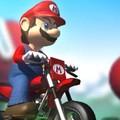 Mario lái xe vượt địa hình