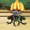 Game Chiến binh và quái vật, choi game Chien binh va quai vat