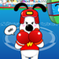 Game Snoopy đánh quyền anh, choi game Snoopy danh quyen anh