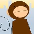 Khỉ nhặt chuối
