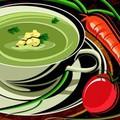 Soup rau quả