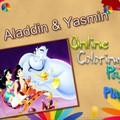 Tô màu tranh Aladin