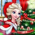 Elsa Trang Trí Phòng Đêm Noel