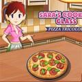 Lớp dạy nấu ăn của Sarah : Pizza Tricolore