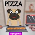 Cún con làm pizza