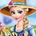 Elsa Trồng Hoa Tuyết