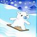Game Gấu con trượt tuyết, choi game