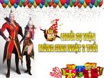 [Chuỗi Sự Kiện] - Mừng Sinh Nhật Thần Kiếm 3D 2 Tuổi