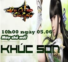 Khai mở máy chủ mới Khúc Sơn (05.06)