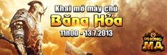 [Thông Báo] - Khai Mở Máy Chủ S157 Băng Hỏa