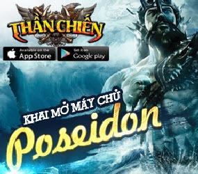 Thông báo mở máy chủ mới Poseidon