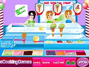 Cửa hàng kem tươi