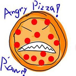 Bánh Pizza nổi loạn
