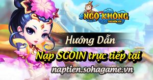 [Hướng Dẫn] - Nạp SCOIN trực tiếp qua trang Soha Game