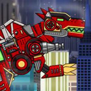 Lắp Ráp Robot Spinosaurus