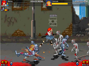 Game Võ Thuật Zombies