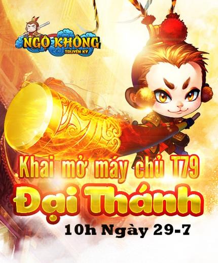 Khai mở máy chủ T79 Ngộ Không ngày 29/07