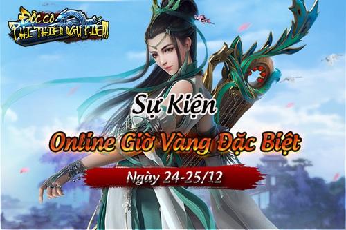 [Sự Kiện] - Online Giờ Vàng Đặc Biệt 24-25/12