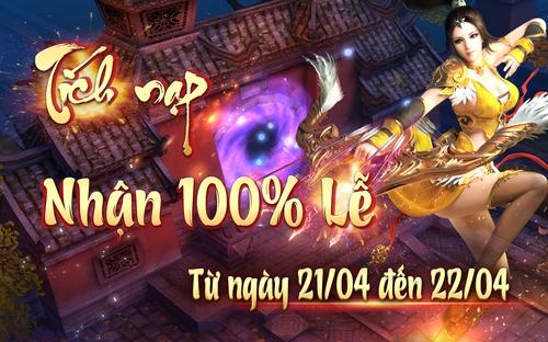 [Sự kiện] Tích Nạp Nhận 100% Lễ