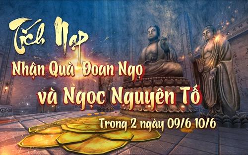 [Sự kiện] Tích Nạp Nhận Quà Đoan Ngọ và Ngọc Nguyên Tố