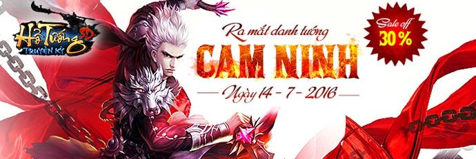 [Tin Tức] - Ra Mắt Danh Tướng Mới Cam Ninh