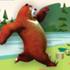 Game Chú gấu mập ú, choi game