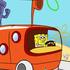 Game Tài xế Spongebob, choi game