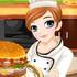 Game Làm Bánh Hamburger Tessa, choi game