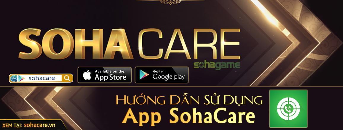 [SohaCare] Hướng dẫn sử dụng App SohaCare
