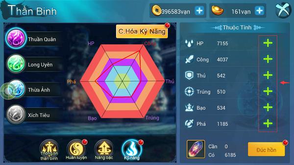 Tính năng Update tháng 6 Võ Hồn Thần Binh - 4