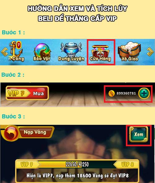 [Tân Thủ] Cấp VIP - 1