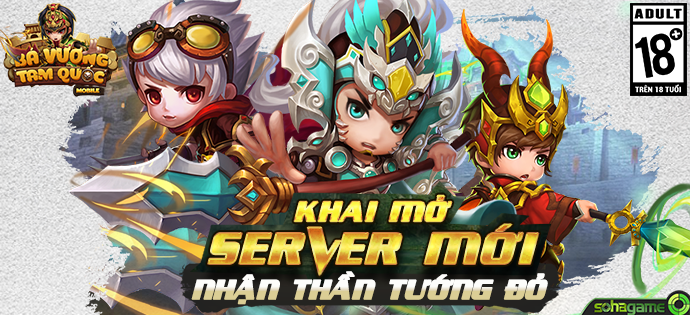 ★★★ Chính Thức Ra Mắt Bá Vương Tam Quốc - Game Hợp Kích Lên Đỉnh 2017 ★★★