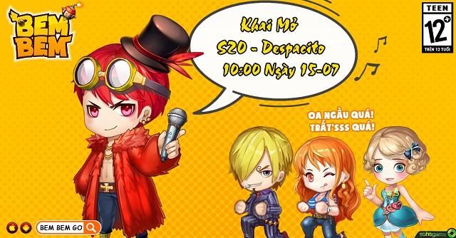 Khai mở máy chủ mới S20 Despacito - Đua Top thả ga - Không lo quà về!! - 1