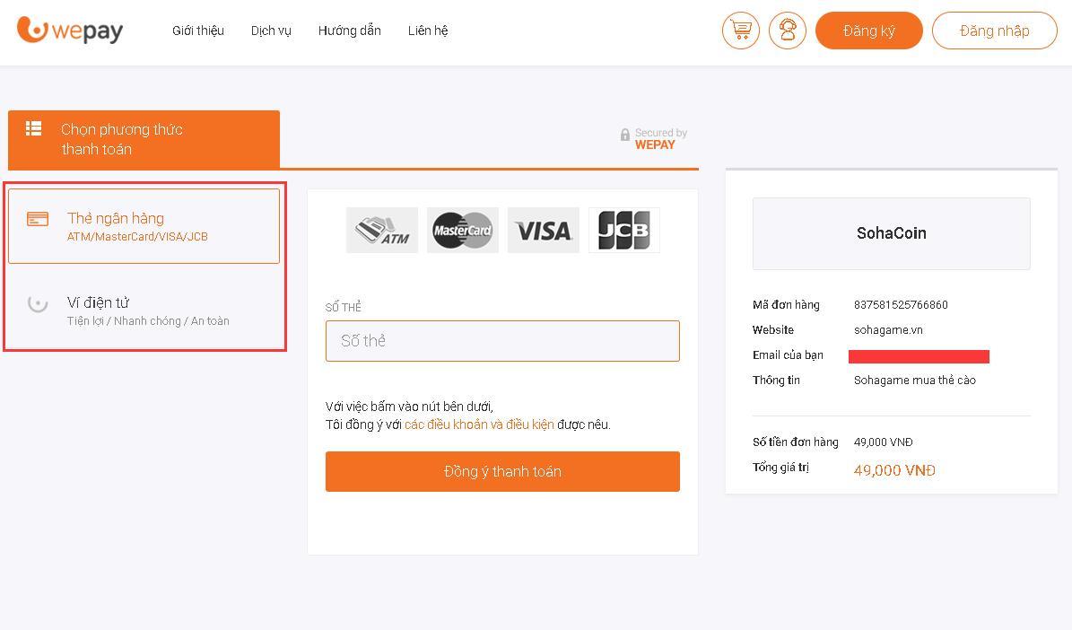 [Hướng Dẫn] Mua Thẻ SohaCoin bằng ATM - 3
