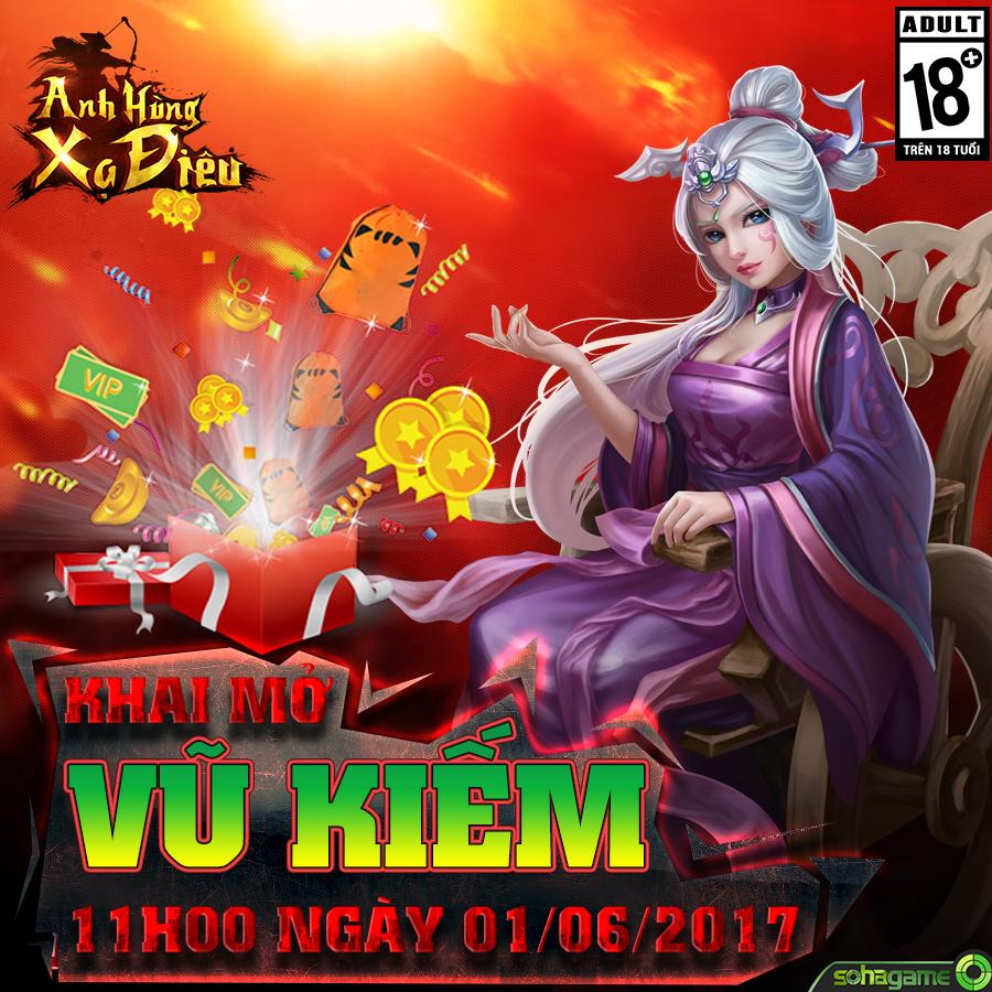 [Khai Mở] Server Vũ Kiếm - 11h00 ngày 01/06/2017 - 1