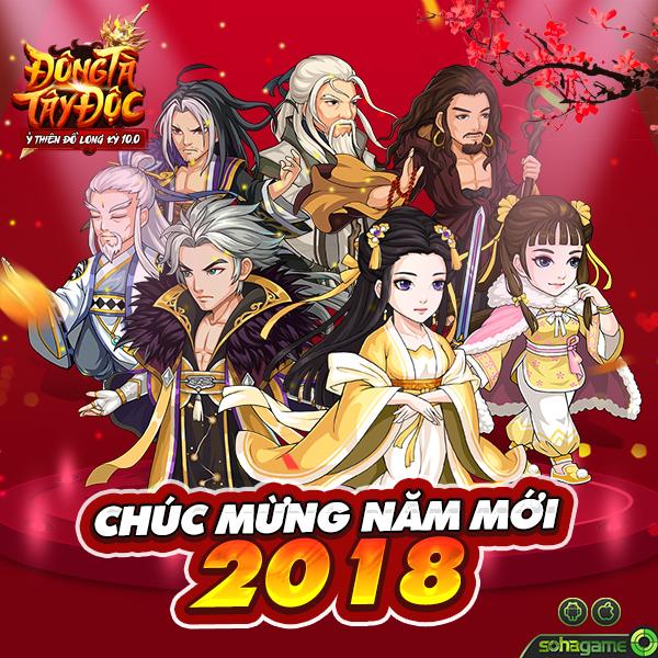 Đông Tà Tây Độc - Chúc Mừng Năm Mới 2018 - 1