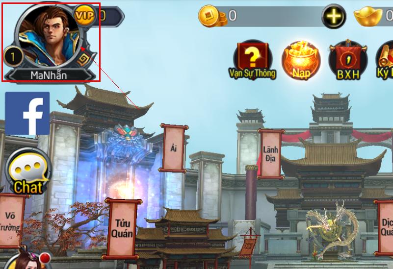 Hướng dẫn người chơi nhập Giftcode - 1
