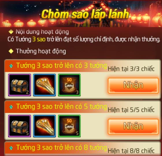 CHUỖI SỰ KIỆN : CHINH PHỤC MÁY CHỦ MỚI - 6